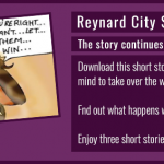 Reynard City Short Story Collection: A World In Chaos - now available to download from the Reynard City Patreon page