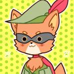 Superhero Robin Hood by Piyper